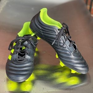 Adidas Copa Black and Green Soccer Cleats